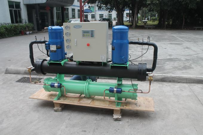 Commercial Use High Efficient Heat Exchanger Open Water Cooled Water Chiller Small Size